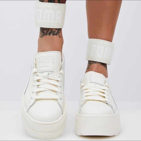 the latest 8d5c3 7e247 VANILLA FENTY PUMA BY RIHANNA ANKLE STRAP SNEAKER NWT